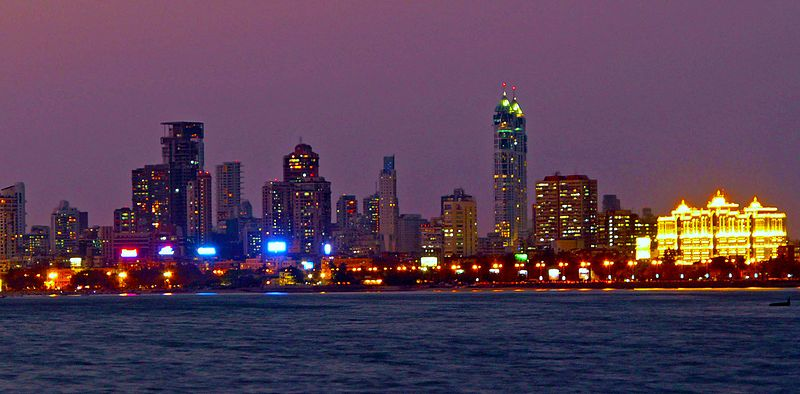 קובץ:Mumbai Skyline at Night.jpg
